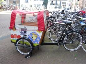 bicicletta trasportino bambini
