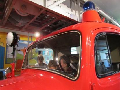 il camion dei pompieri