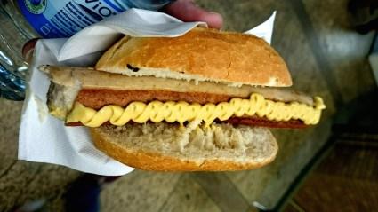 Bratwurst a Berlino