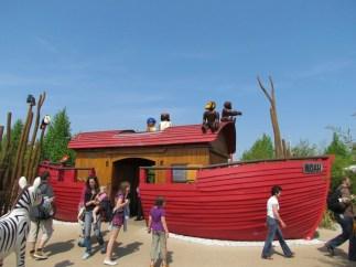 La zona dell'arca