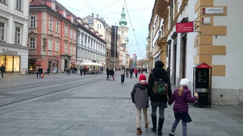 passeggiata in centro