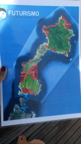 Mappa Asinara