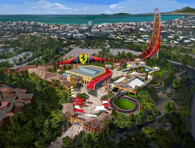 portaventura world ferrari land