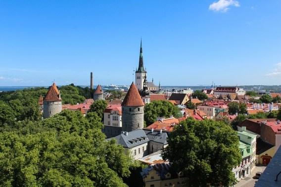 Tallinn Estonia centro storico