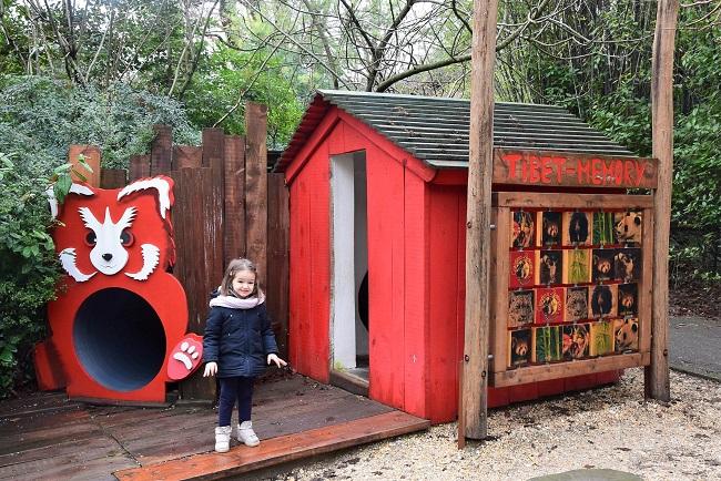 zoo pistoia con i bambini