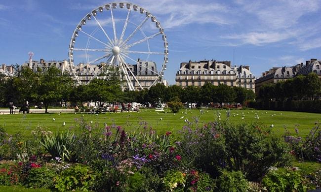 giardini di tuileries parigi