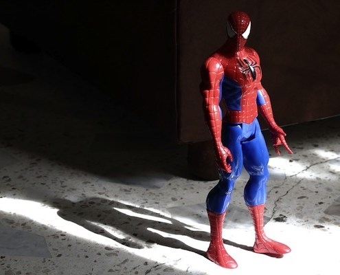 spiderman action picture