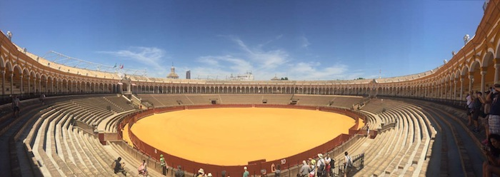 siviglia arena plaza de toros
