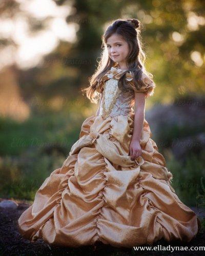 La bella e la bestia, il costume di carnevale