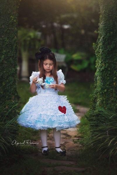 Costume di Carnevale di Alice nel Paese delle Meraviglie