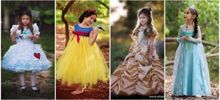 I Costumi di Carnevale ispirati alle Favole Disney
