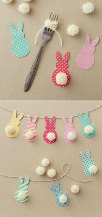 Lavoretti per Pasqua: decorare la casa con i bambini