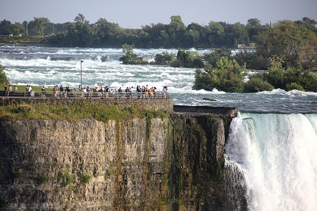 Cascate del Niagara, dove si trovano