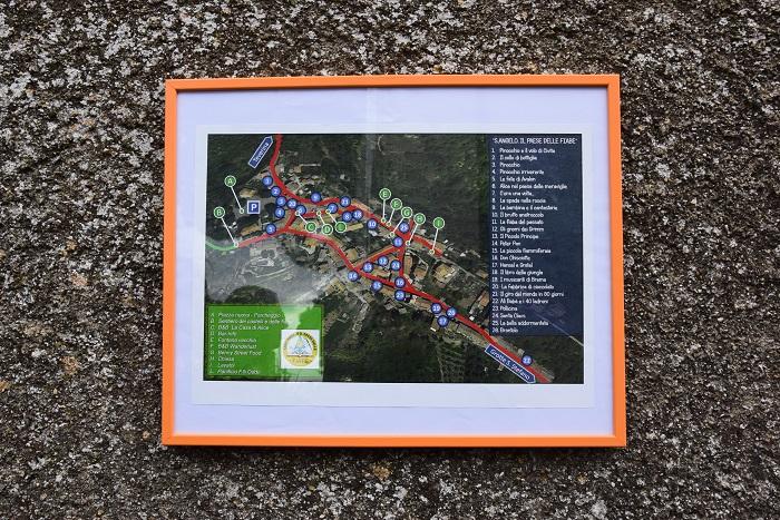 sant'angelo (viterbo) mappa