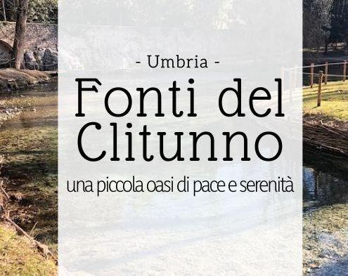 Le Fonti del Clitunno, informazioni utili