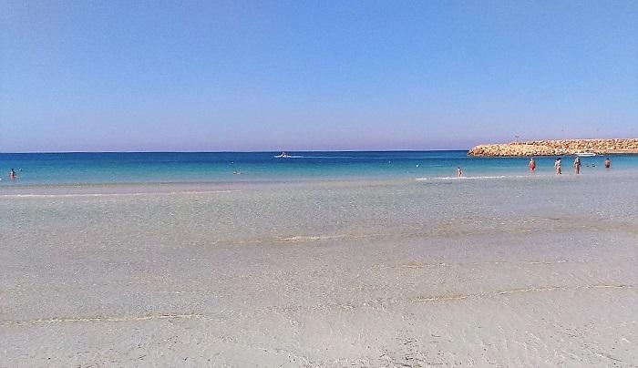 La spiaggia di Torre San Giovanni