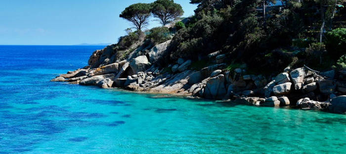 L'isola di Giannutri fa parte dell'arcipelago toscano