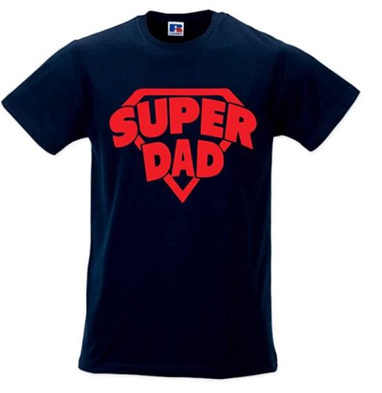 Super Dad, la maglietta per il nostro papà supereroe