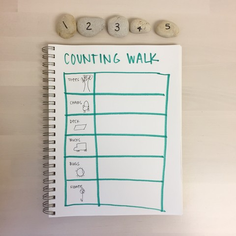 Counting Walk for Preschoolers