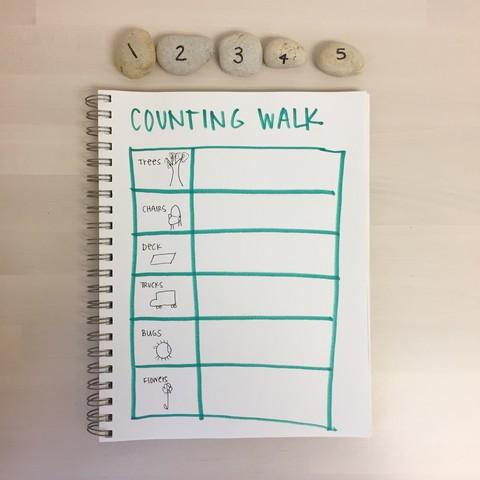 Counting Walk for Preschoolers