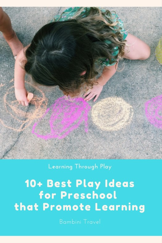 Best Play Ideas for Preschoolers to Promote Learning