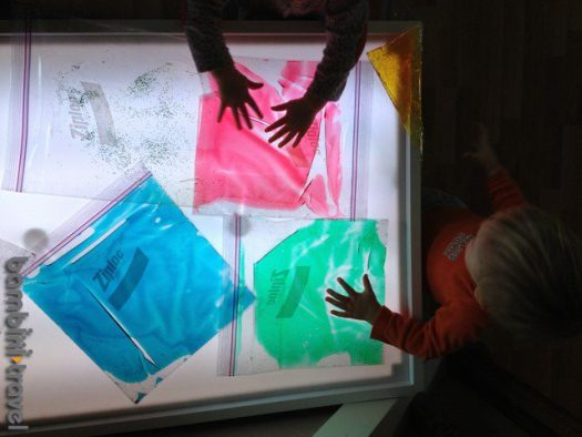 Light Table Activity Ideas for Toddlers