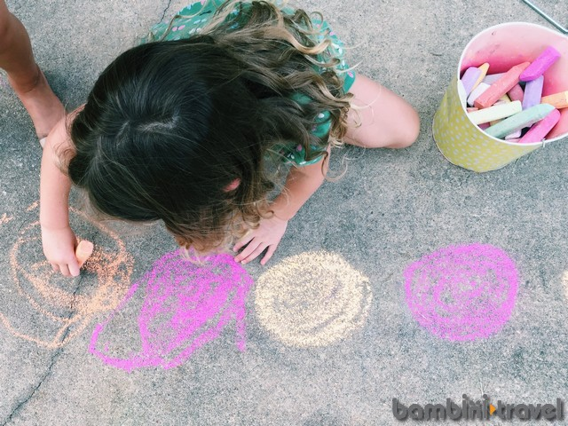 Chalk Patterns Math Outside