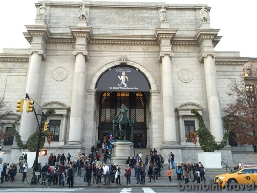 Natural History Museum New York City with Kids