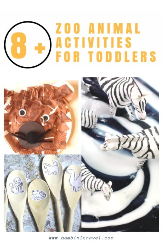 8+ Zoo Animal Activities perfect for Toddlers
