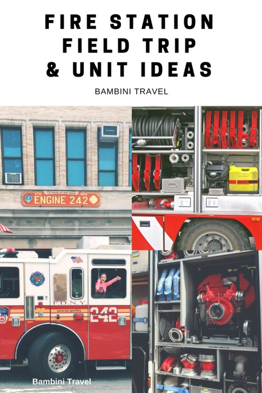 Fire Station Field Trip and Unit Ideas for Kindergarten and First Grade