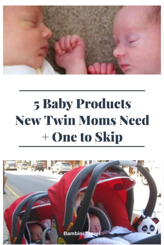5 Baby Products New Twin Moms Need and One to Skip