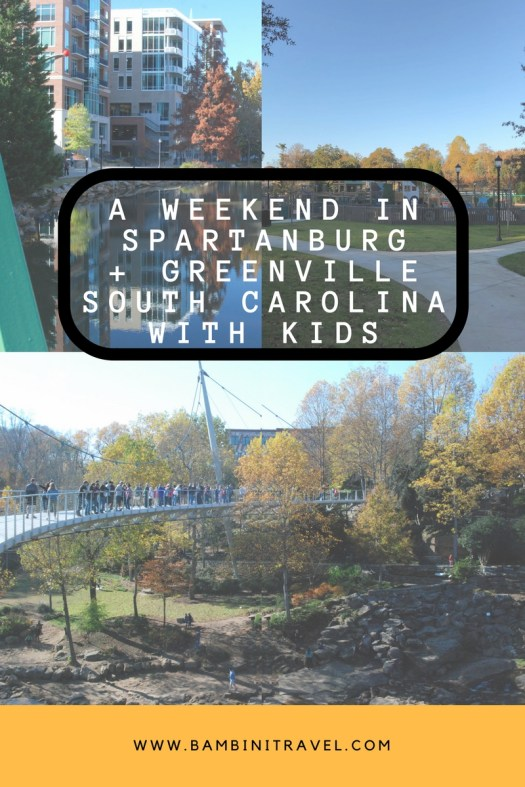 A Weekend in Spartanburg and Greenville South Carolina with Kids
