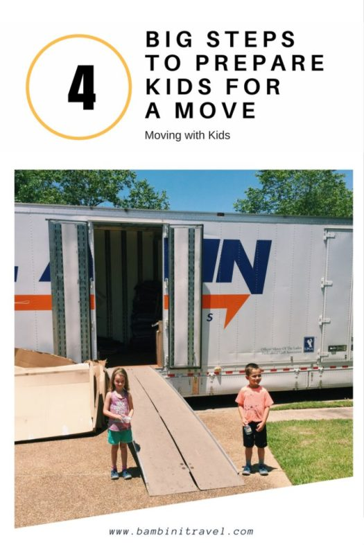 4 Steps to Prepare Kids for a Move