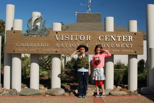 Cabrillo National Monument San Diego with Kids