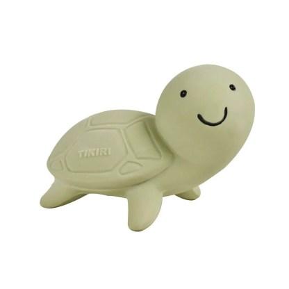 tikiri turtle bath toy natural rubber