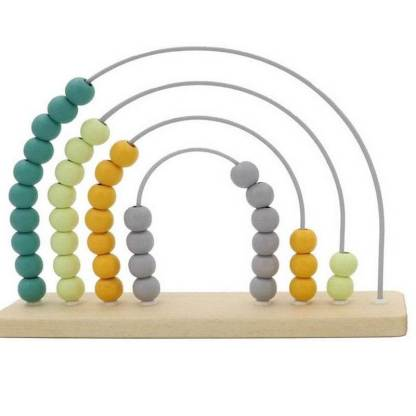 wooden arch moss abacus