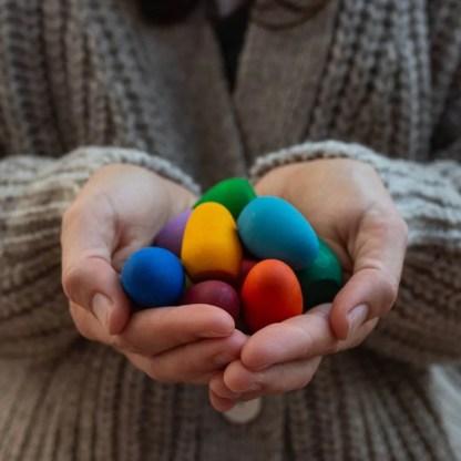 grapat mandala rainbow eggs