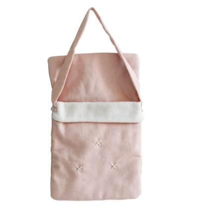 baby doll carrier pink linen