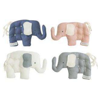 elephant 3 colours alimrose soft baby toy