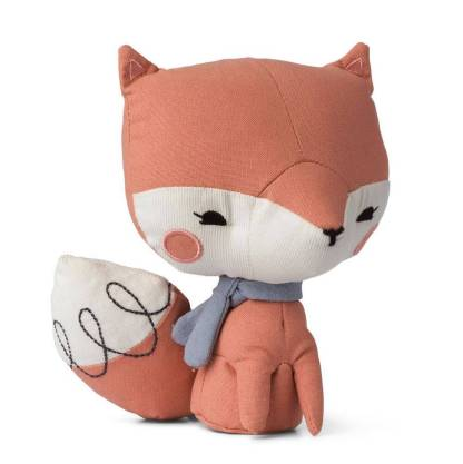 picco loulou toy fox pink 18cm