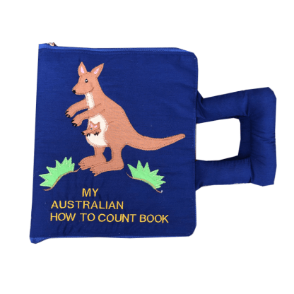 my quiet book australian how to count soft book
