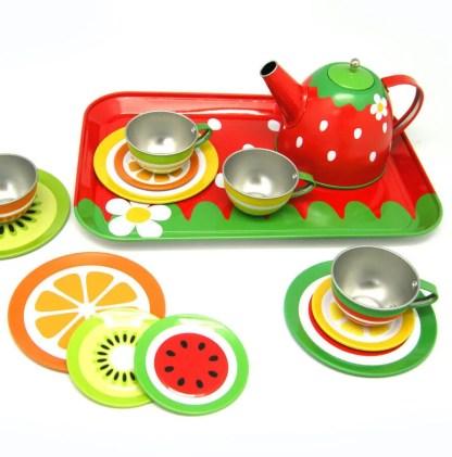 fruit tin tea set23