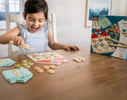 djeco wooden counting game gal