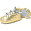 rumpette Gold 'Baby Tracks' with Blue Laces
