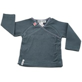 Kik Kid Baby Wrap Jacket in Bluey Grey