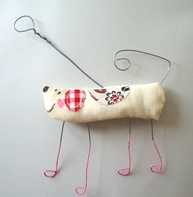 Cloud Cuckoo Designs Dangly Wall Dog £6.99
