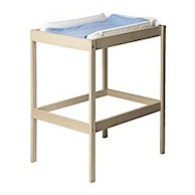 sniglar changing table white