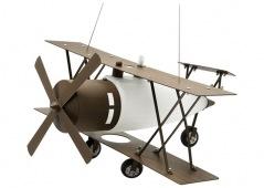 Vintage Propeller Plane Pendant