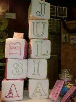 Custom Made Baby Blocks by Millimoomi