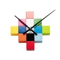 Do It Yourself Cubic Wall Clock Karlsson